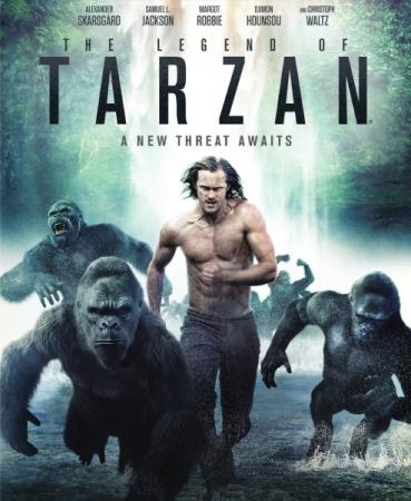 Тарзан. Легенда / The Legend of Tarzan (2016/WEB-DL/WEB-DLRip)
