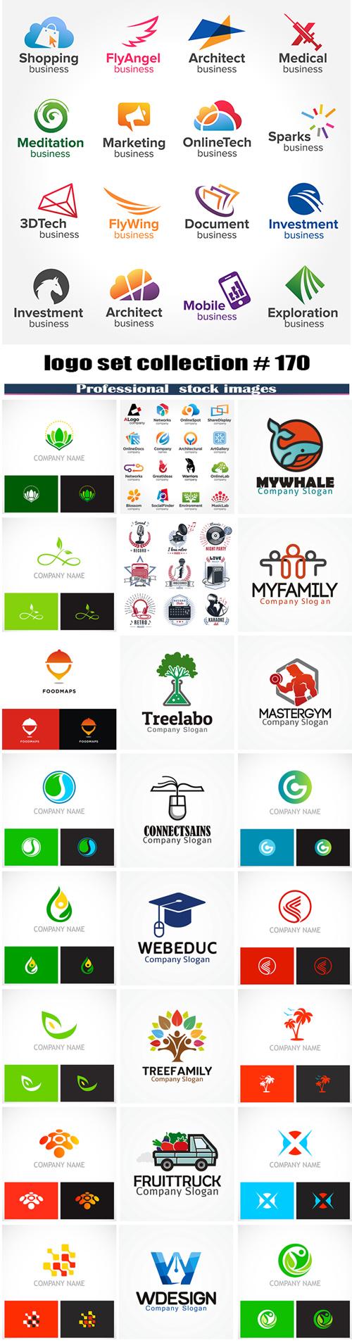 logo set collection # 170
