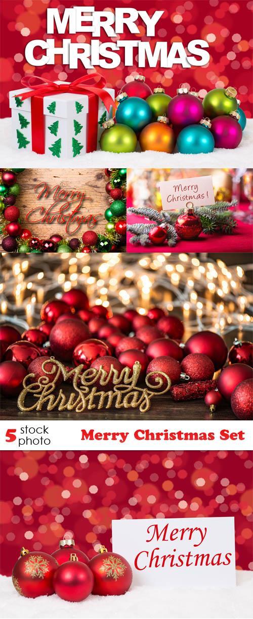 Photos - Merry Christmas Set