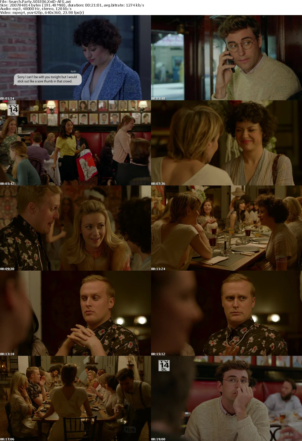 Search Party S01E06 XviD-AFG