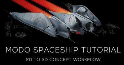 Gumroad - Modo Spaceship Tutorial