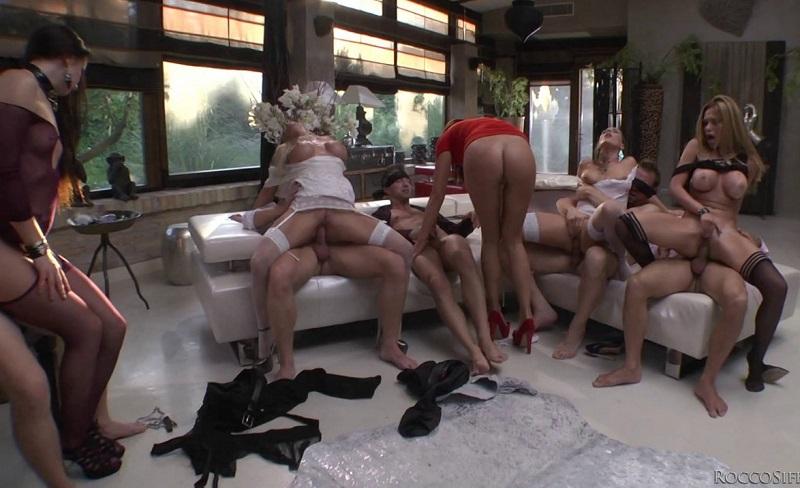 Carolina Abril, Alexa Tomas, Lara De Santis, Kittina, Felicia Kiss, Subil Arch Blindfolded Orgy SD 400p