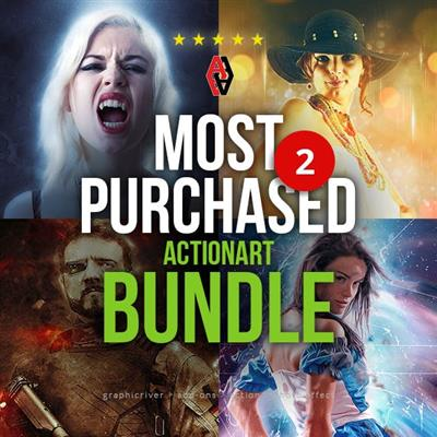 GraphicRiver - Most Purchased Actionart Bundle 2 - 23068583