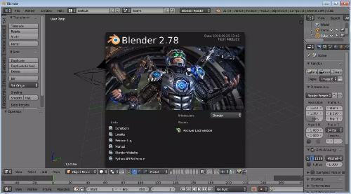 Blender 2.78 + Portable (x86-x64) (2016) Rus/Multi