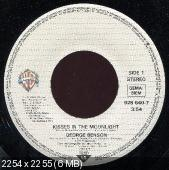 George Benson - Kisses In The Moonlight (1986) 45 RPM Single