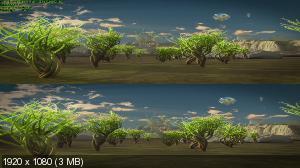 Лунный свет: Путешествие 3D / Lichtmond: The Journey 3D ( by Ash61) Вертикальная анаморфная стереопара