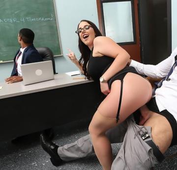 Angela White - Parent Fucking Teacher Meetings! (2016) HD 720p