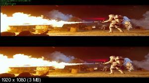 Звёздные войны: Пробуждение силы 3D / Star Wars: Episode VII - The Force Awakens 3D ( BY ASH61)  Вертикальная анаморфная стереопара