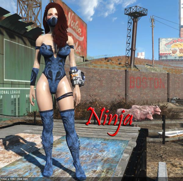 Mod sexy fallout 4 outfit