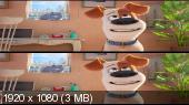 Тайная жизнь домашних животных 3D / The Secret Life of Pets 3D  Вертикальная анаморфная стереопара