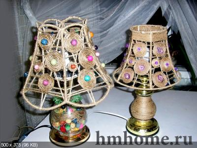 Светильники своими руками 7edb0b1b55318fd9baee79cd0d398012