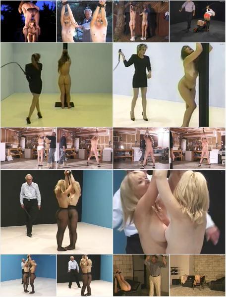 Lusty stunner gianna michaels really enjoys spanking a latex 9