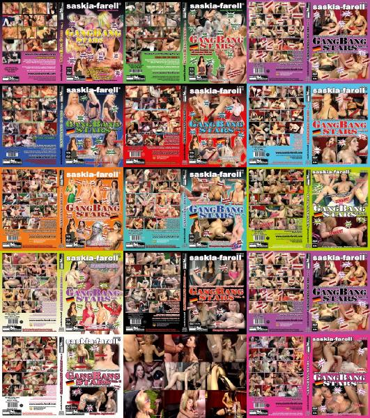 Звезды групповух 1-14  |  Gangbang Stars 1-14