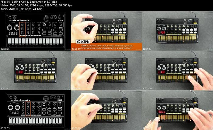 Ask Video Volca 101 Volca Beats Explored TUTORiAL-ADSR