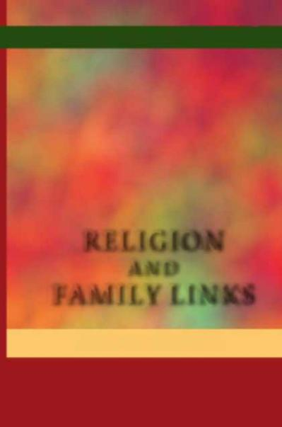Religion and Family Links Neofunctionalist Reflections