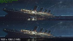 Титаник: 100 лет в 3D / Titanic: 100 Years in 3D  (by Ash61) Вертикальная анаморфная стереопара