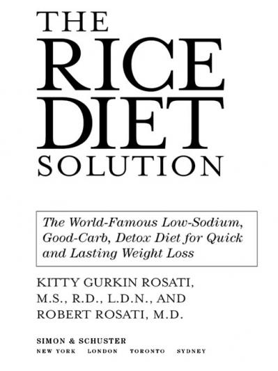 The Rice Diet Solution The World-Famous Low-Sodium