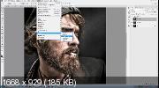 Эффект Масляной краски в Photoshop CC 2019 (2019) HDRip