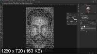 Текстовый портрет. Эффекты в фотошоп (2019/WEBRip)