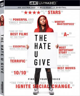 Ваша ненависть / The Hate U Give (2018) Blu-Ray EUR 1080p | Лицензия