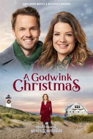 Бог подмигнул в Рождество / A Godwink Christmas (2018) HDTVRip