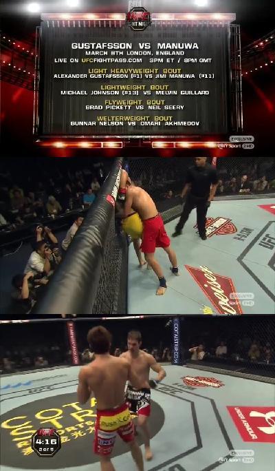 UFC Light Fight Night TUF China Finale Kim vs Hathaw-heavendl